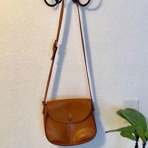 Madewell Crossbody Cognac purse